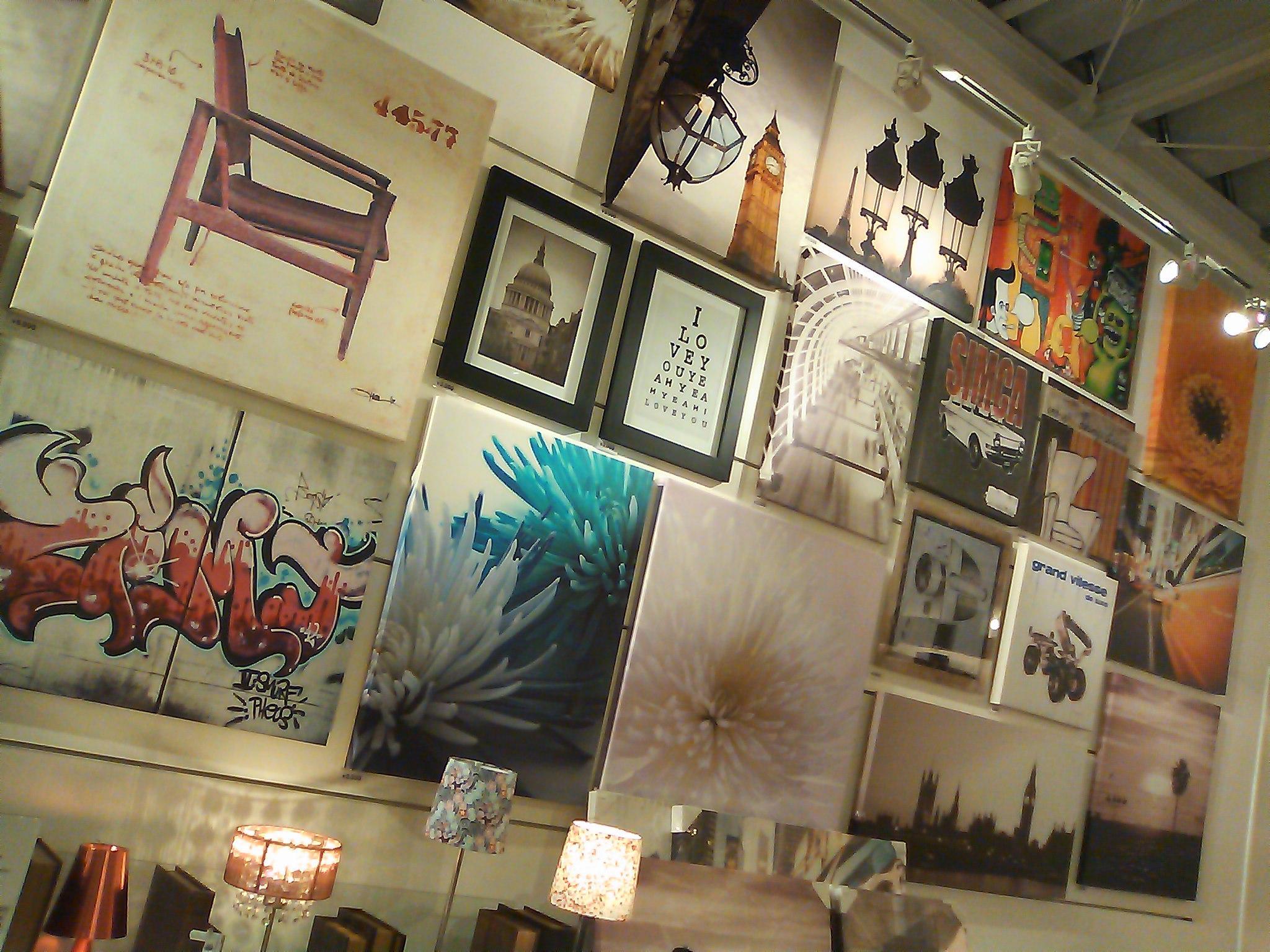 Picture Boards @AOYAMA Francfranc (Omotesando, Tokyo)