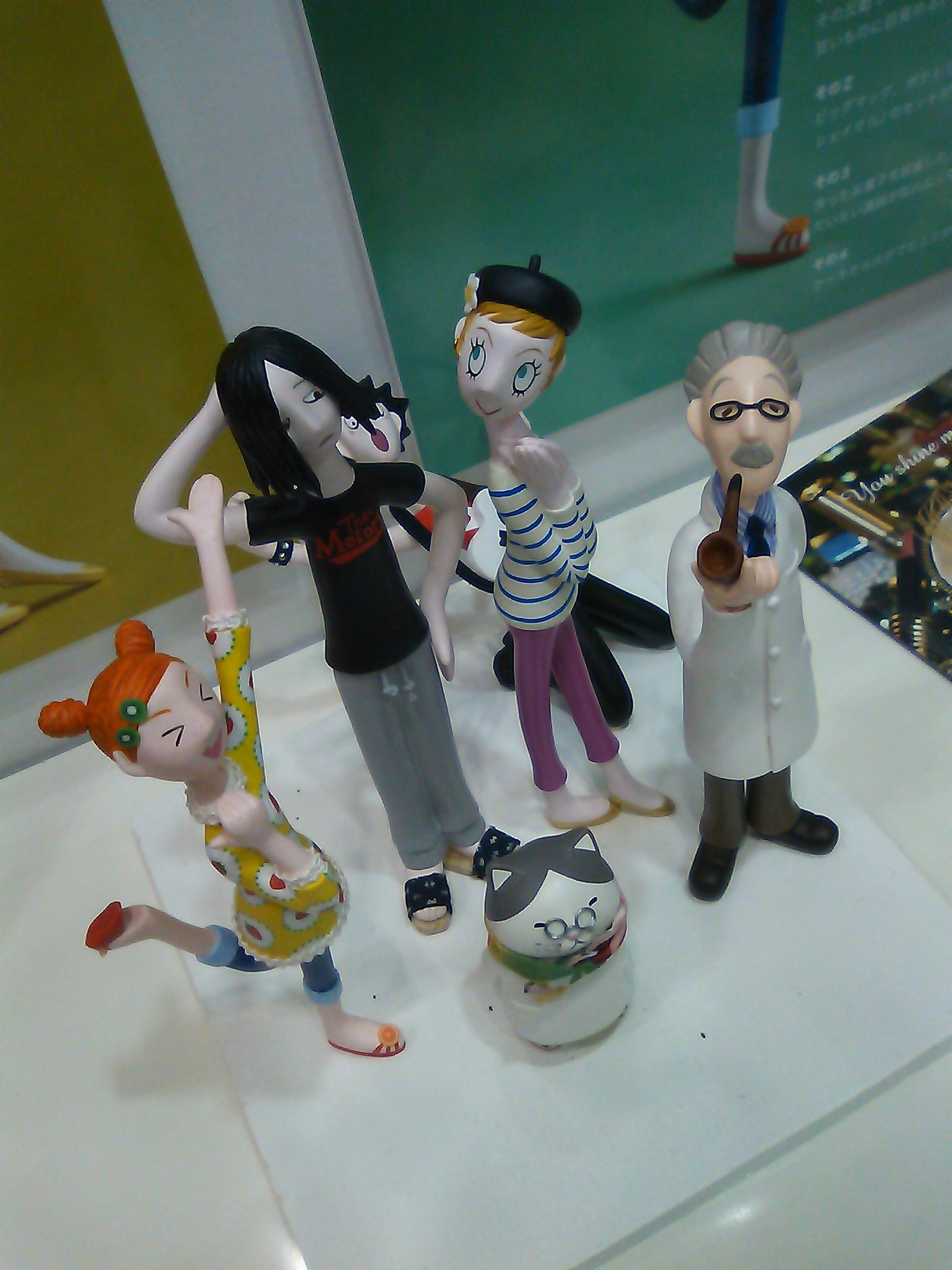 Yumiko Matsuura at Tokyo International Gift Show