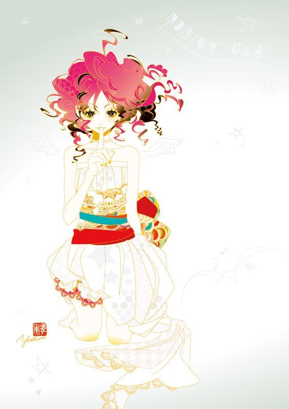 Yoshimi OHTANI's works for Sakura Exhibition