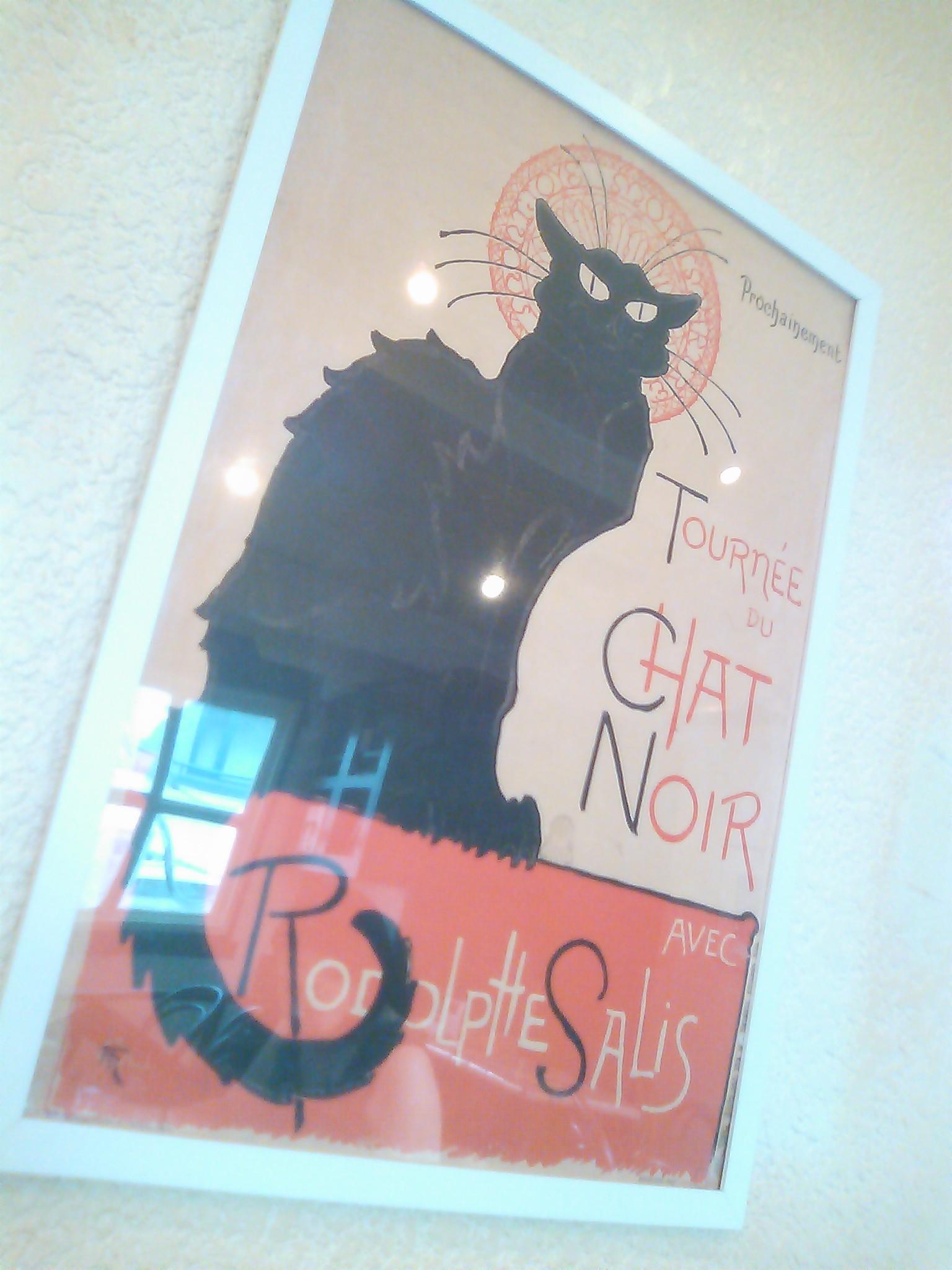 Steinlen, La tournée du Chat Noir avec Rodolphe Salis