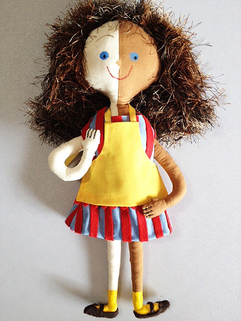 Ice Cream Girl Doll