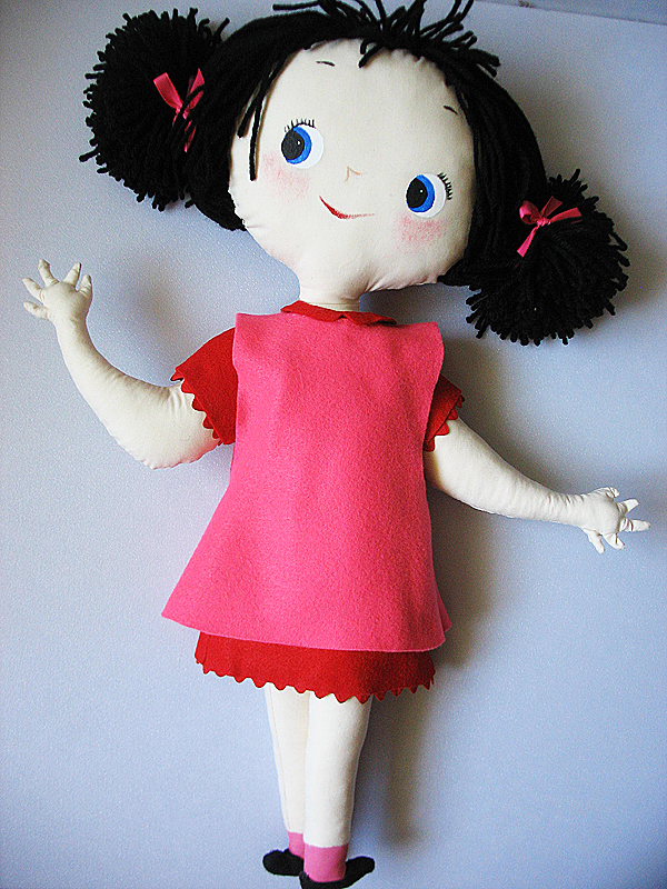 Mary Blair Girls Doll