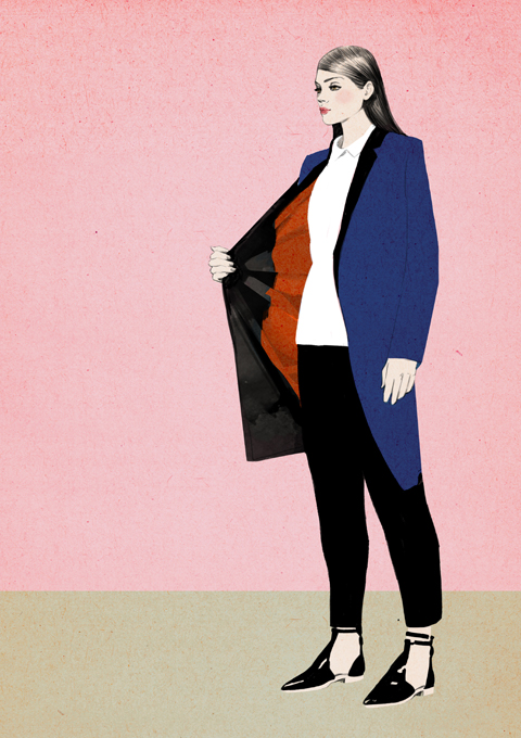 Illustrations by Sandra Suy for Asahi Kasei Fibers