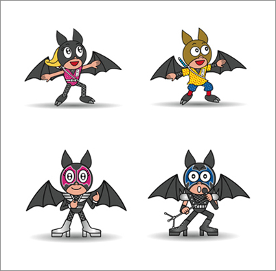 Kawaii animations by Japanese illustrator Suzy Amakane