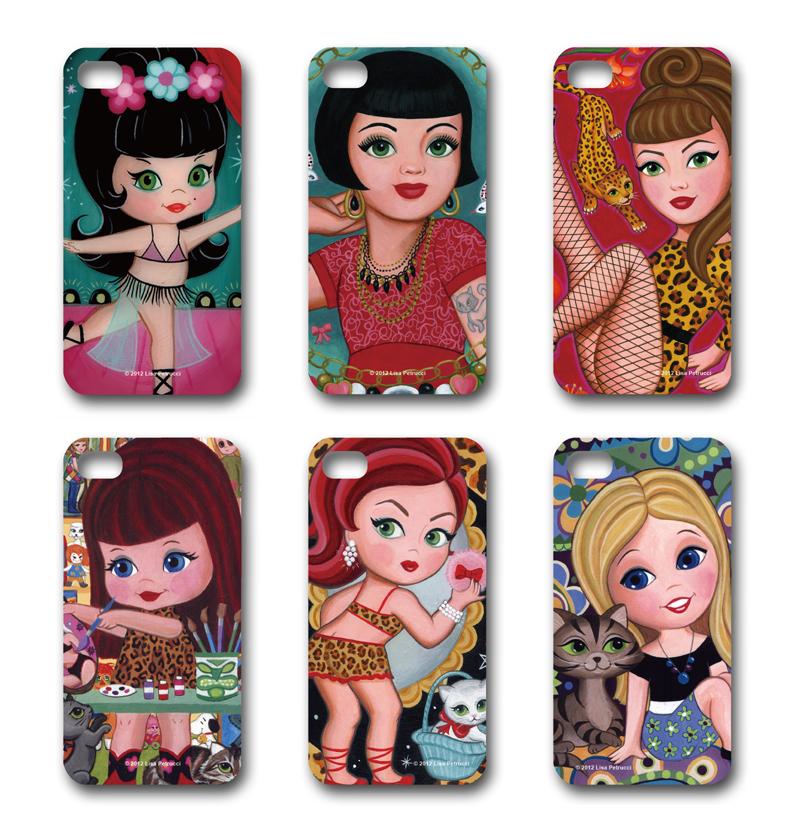リサ・ペトルーチのiPhoneケース販売開始