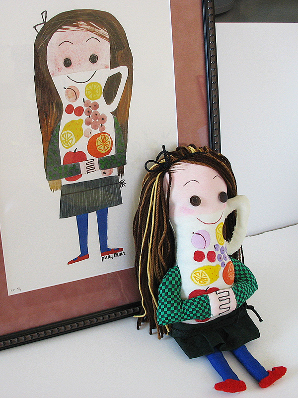 Juice Girl Doll and Ice Cream Girl Doll